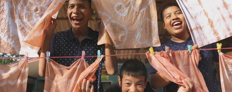 ผจญภัยในลานตะบูน ความสุขเล็กๆ ของเด็กบ้านท่าระแนะ