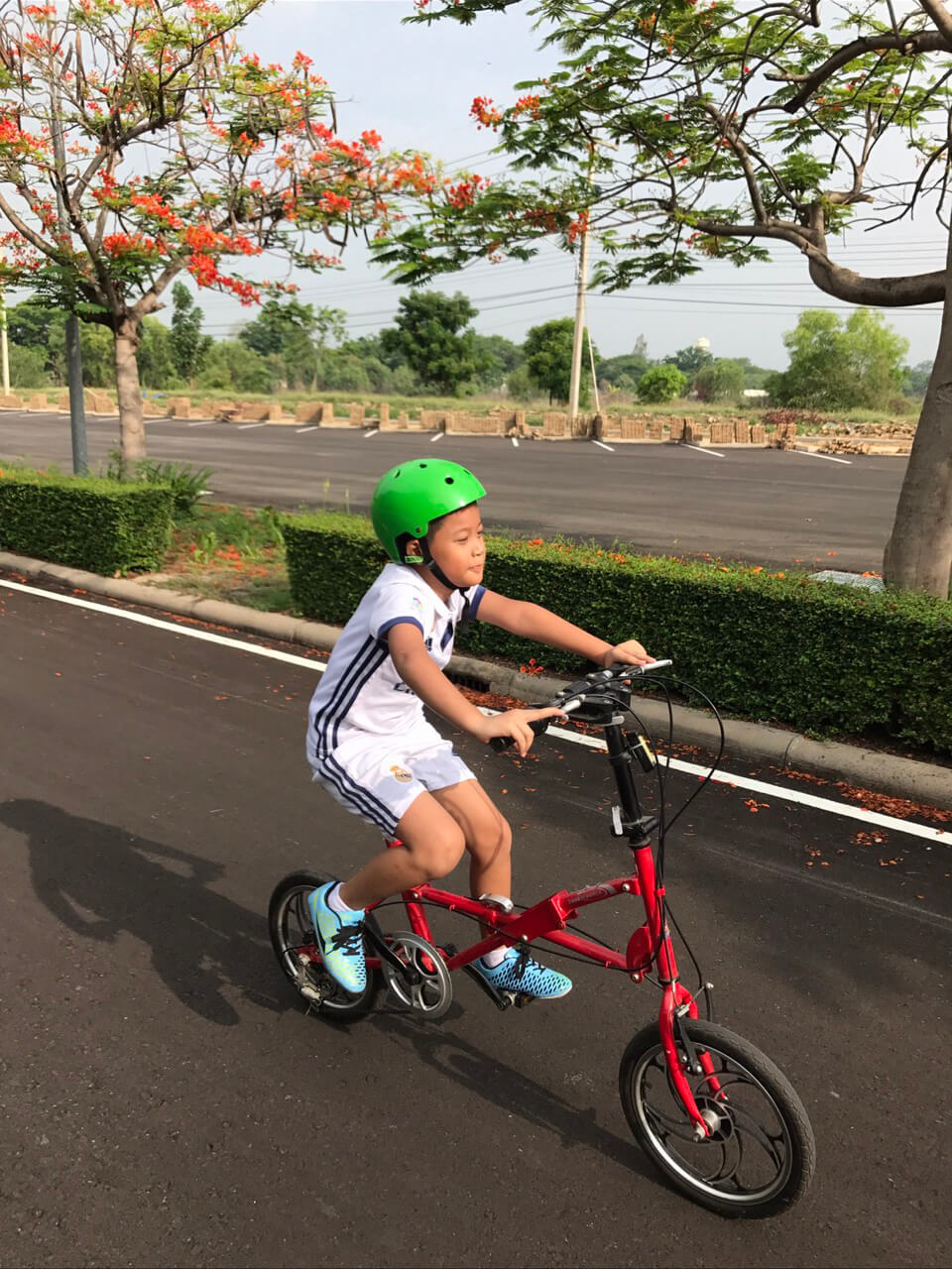 น้องซีปั่นจักรยานตั้งแต่เด็ก