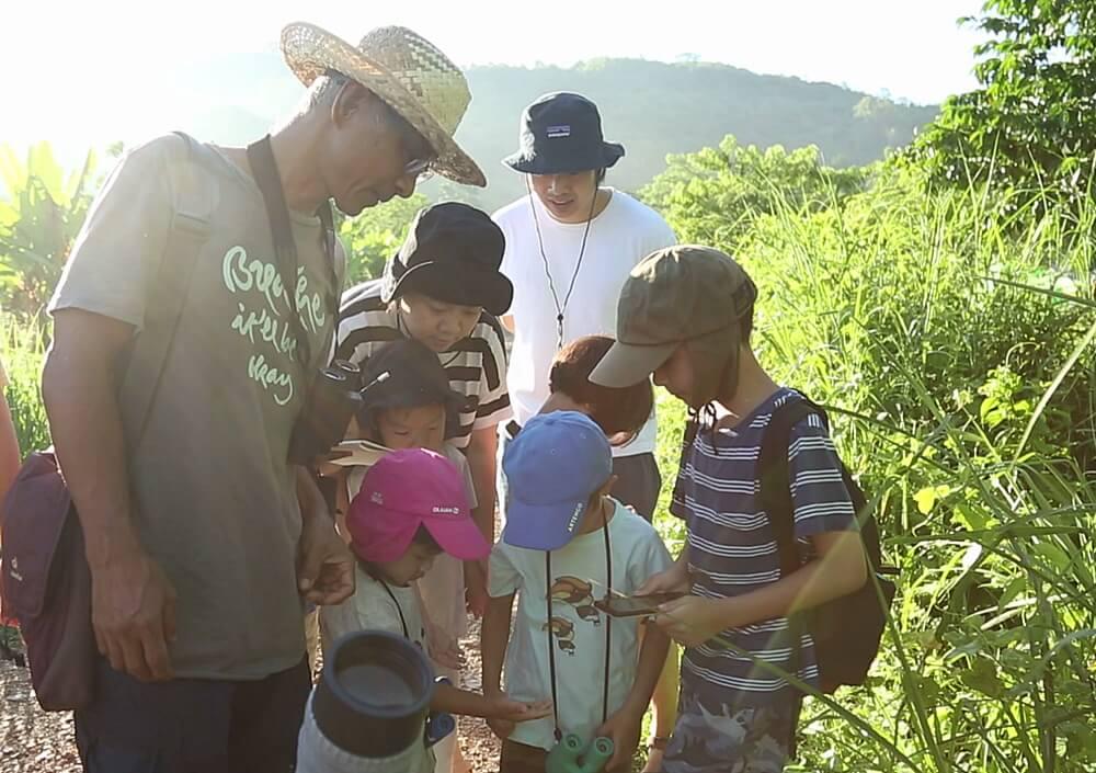02 เด็กๆ เรียนรู้สิ่งมีชีวิตในธรรมชาติ